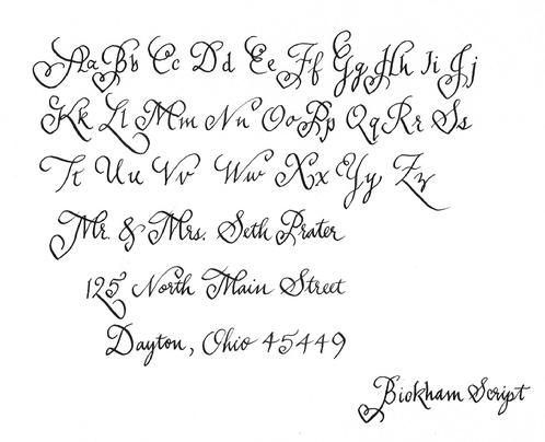 Calligraphy styles Calligraphy scripts